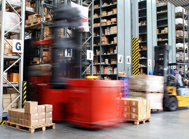 Heftruck Reachtruck Logistiek